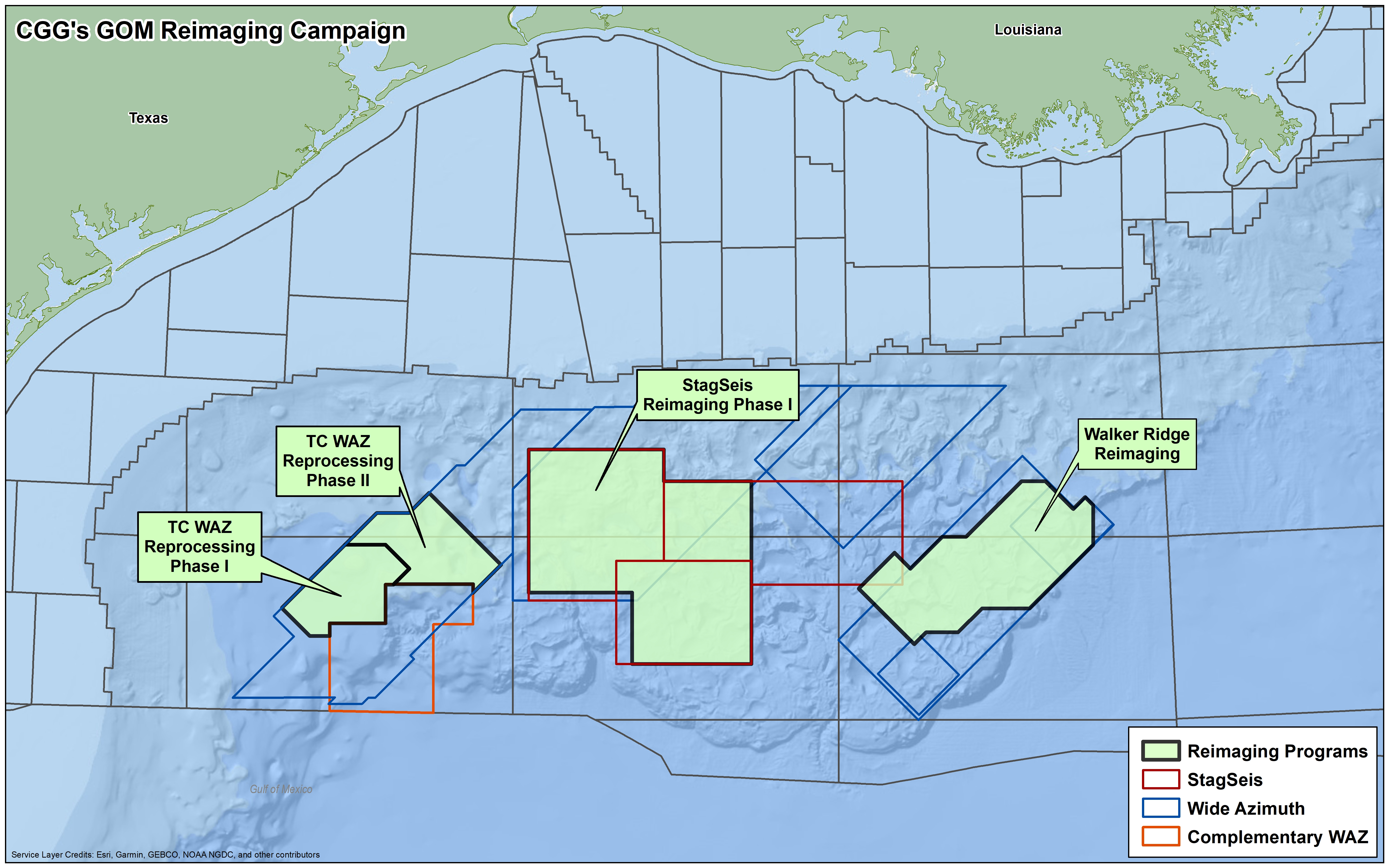 Multi-client seismic reimaging – Gulf of Mexico