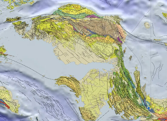 Geological study – Southeast Asia