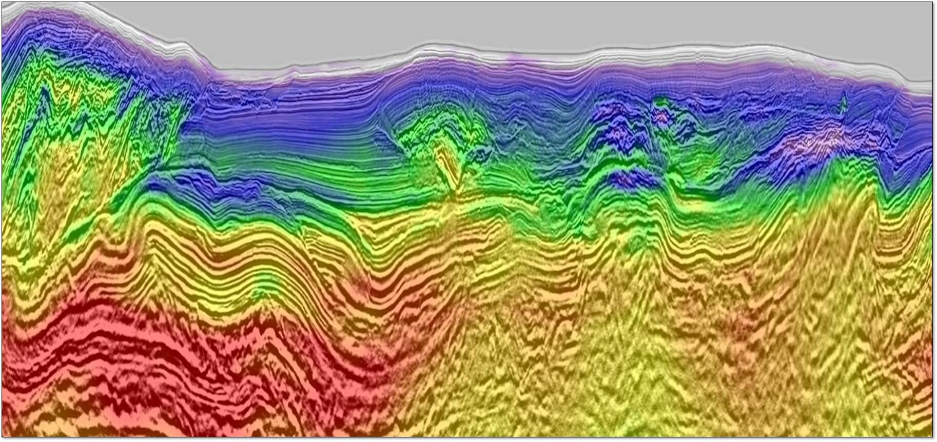 Multi-client seismic data – FWI Encontrado